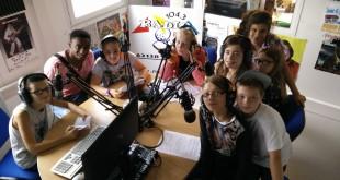 Photo issue d'un atelier TAP avec les jeunes élèves de Douvrin.