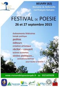 Festival de Poésie 2015 Beuvry