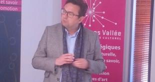 Bruno Cavaco, président du pôle numérique culturel Louvre Lens Vallée.
