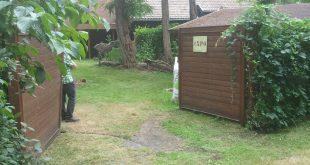 L'entrée de la maison forestière, cible d'actes de vandalisme