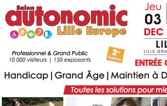 Salon autonomic lille 2015 r couter radio plus for Salon autonomic lille