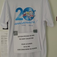 TEE SHIRT RADIO PLUS COLECTOR 20 ANS