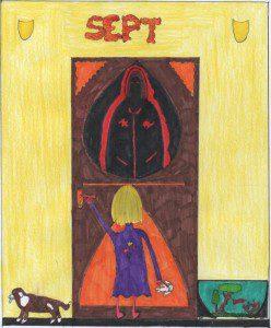 """Illustration de """"Sept..."""", nouvelle écrite par des élèves du lycée d'Artois de Noeux-les-Mines"""