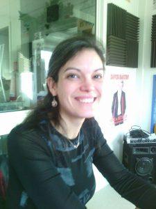 La conteuse Manuella Yapas à Radio Plus, le 15 février 2017
