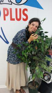 Manuella Yapas, conteuse, juillet 2017