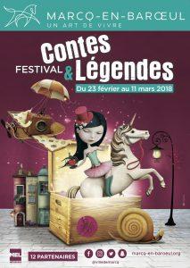 Affiche festival Contes et Légendes 2018 - Marcq en Baroeul