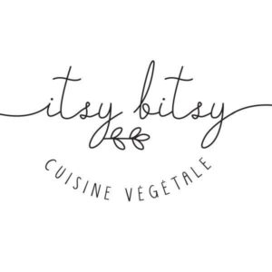 logo restaurant végétalien Itsy Bitsy (Lille)