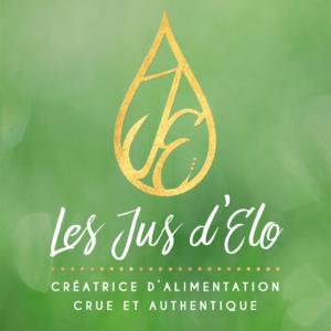"""Logo """"Les Jus d'Élo"""" (alimentation crue et biologique)"""